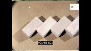 1970s Concrete Block Paving, Educational Film, 16mm