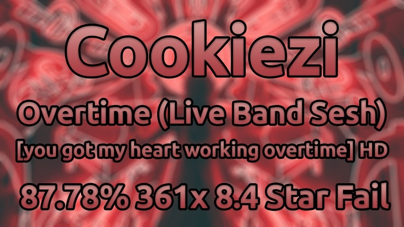 Cookiezi | KNOWER - Overtime (Live Band) [you got my heart working overtime] HD 87.78 ★8.4 Fail