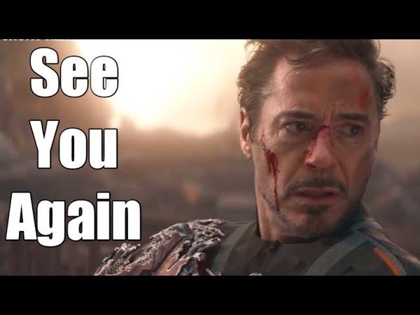Tony Stark Iron Man Tribute See You Again Avengers EndGame
