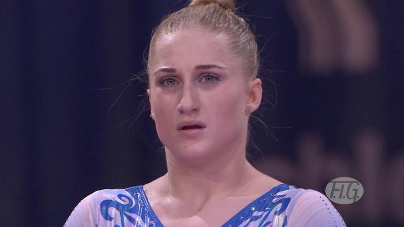 2019 Artistic Worlds, Stuttgart (GER) – Liliia AKHAIMOVA (RUS), Qualifications Vault