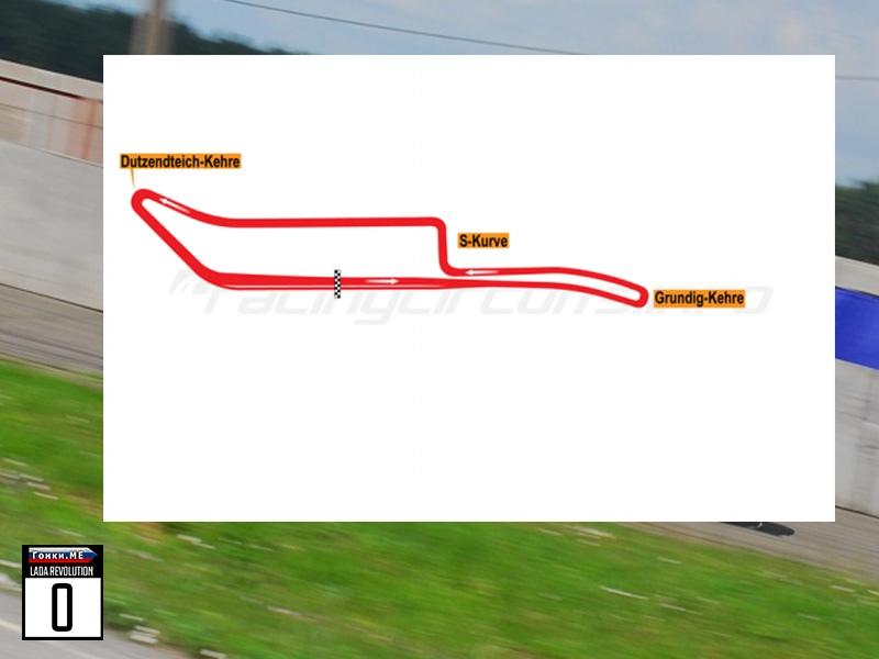 Гонки.МЕ: Показательная гонка в Норисринге