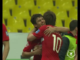 Шедевр Алекса в матче с Амкаром, сезон РПЛ 2009