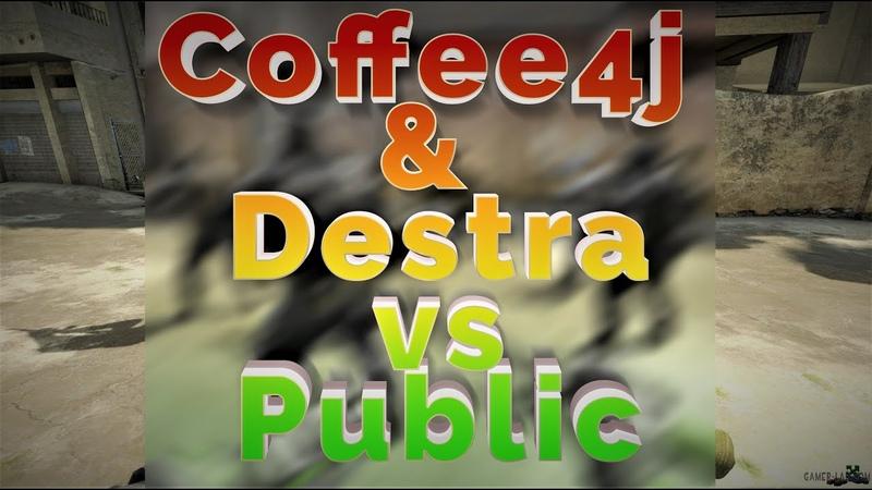 Coffee4j d3stra vs Public Counter Strike 1 6