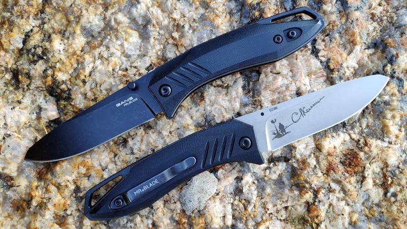 Нож BANG Mr Blade. Проект ОПЕРА.