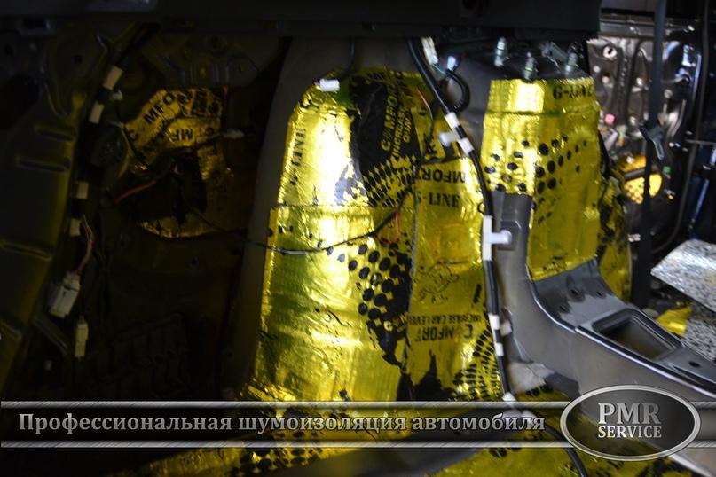 Шумоизоляция Toyota Venza, изображение №12