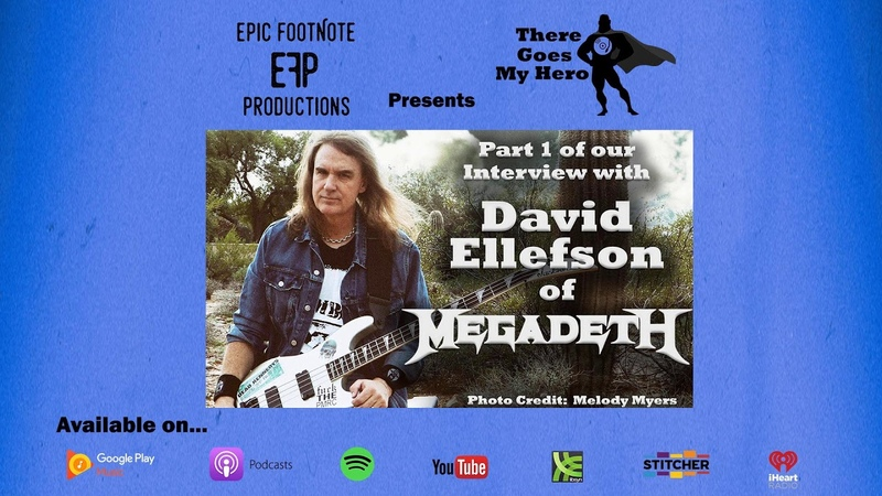 David Ellefson of Megadeth Interview Part 1 There Goes My Hero