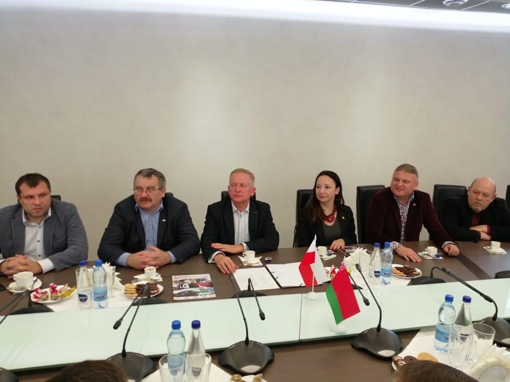 В Брестском горисполкоме прошла встреча с польской делегацией