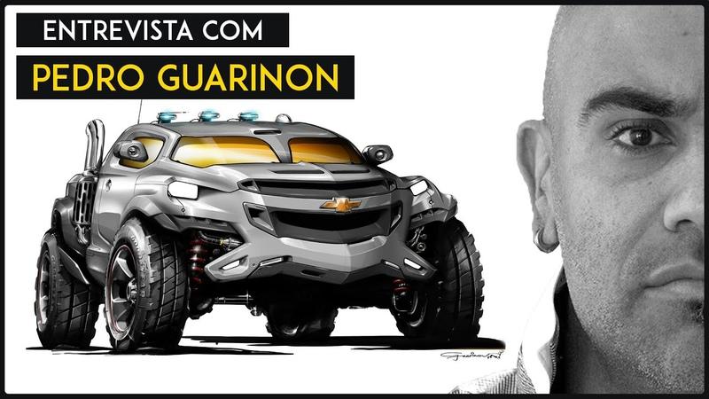 Entrevista com especialistas Pedro Guarinon Designer Automotivo da Ford