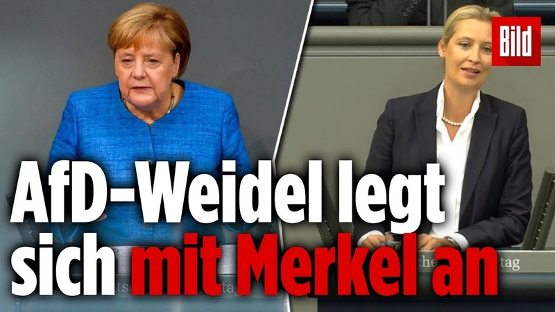 Knallharte Abrechnung mit Angela Merkel bei General-Debatte im Bundestag