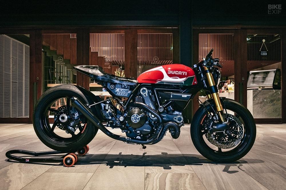 Конструтор Honda переделал Scrambler Ducati 800