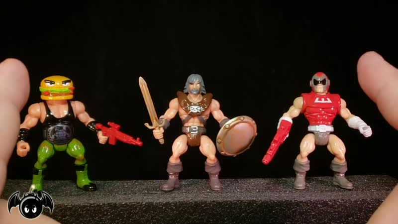 Battle Tribes wave 17 Glyos figures review Spy Monkey Creations