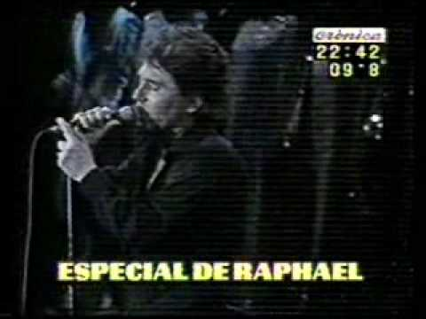 Raphael Me estoy quedando solo
