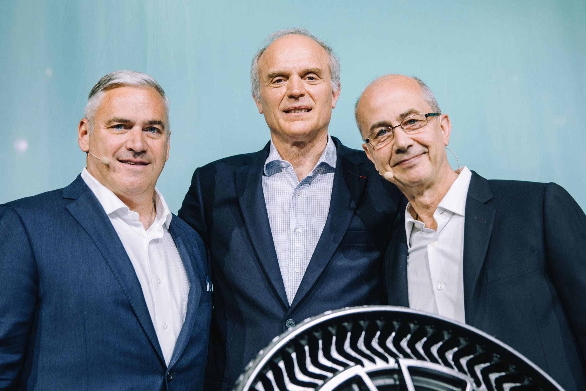 Группа Мишлен и GM представляют безвоздушные шины для легковых автомобилей