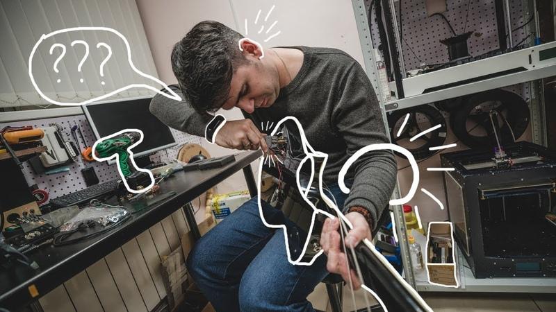 Он расковырял мою гитару