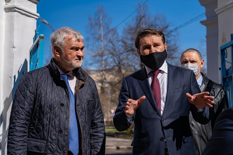 В Ухте с рабочим визитом побывал врио Главы Республики Коми Владимир Уйба, изображение №9