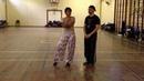 Tango Lesson: Overturned Ganchos Back Sacadas (Advanced)