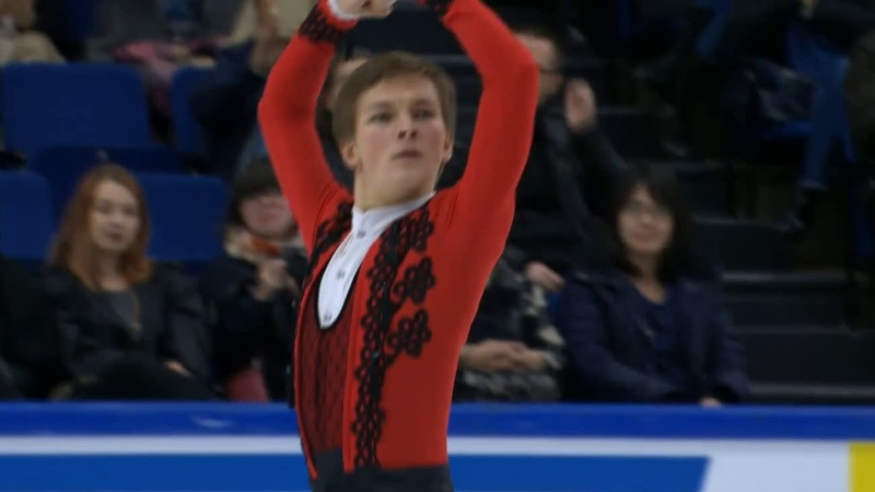 Finlandia Trophy 2018 Mikhail KOLYADA FS