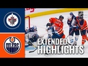 Winnipeg Jets vs Edmonton Oilers – Sep 16, 2019 Preseason Game Highlights Обзор матча