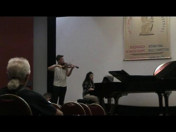 Vyacheslav Ermolaev, 15 y.o. (Russia). Paganini - Caprice 23, Waxman - Carmen. Karina Minasian (pno)