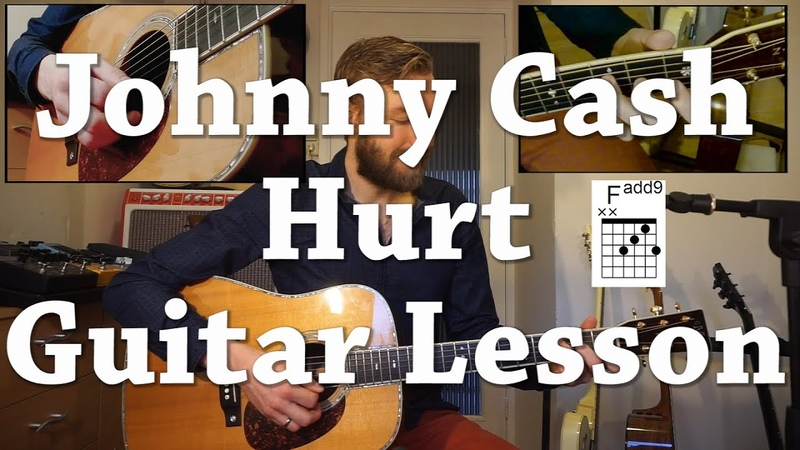 Johnny Cash - Hurt | Guitar Lesson | How to Play | Video Tutorial - With Chords and Tabs!