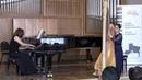 Вероника Лемишенко (арфа) и Нана Дургарян (ф-но) - Интродукция и Аллегро (25.05.2014 муз. Мориса Равеля)