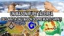 UN MASON RUPE TACEREA / DECLARATIA UNUI MASON DESPRE MUNTII CARPATI / OCULTA SECRETA