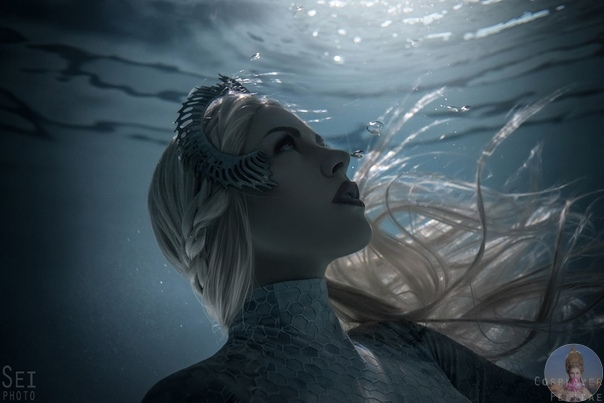 Фтосессия по мотивам фильма Aquaman Королева Атланна: Liz ShabanovaАвтор: SeiPhoto