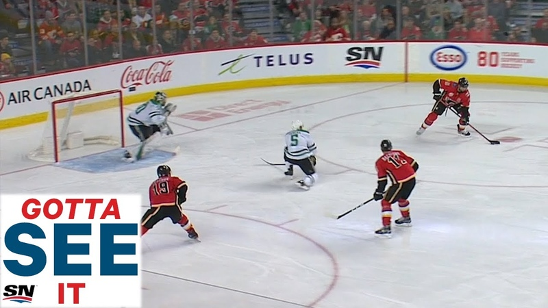GOTTA SEE IT: Flames Brutally Miss 3 on 1 Chance Leading To Slick Stars Goal
