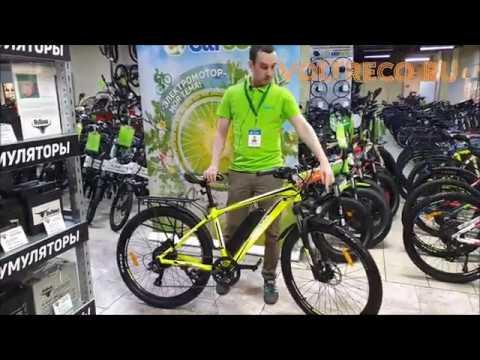 Электровелосипед Eltreco XT 850 New Велогибрид Новинка 2020 Обзор Voltreco.ru