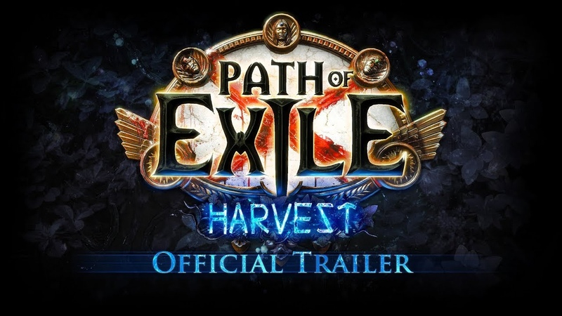 Path of Exile Harvest Official Trailer with Dev Commentary