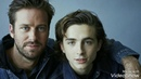 Timothee Chalamet and Armie Hammer music by Whitney Houston I Believe In You And Me