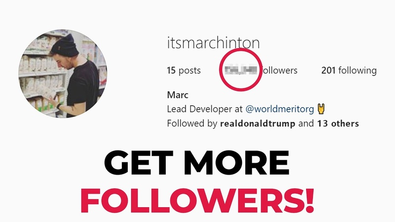Get More Instagram Followers with Python (Bot Tutorial)