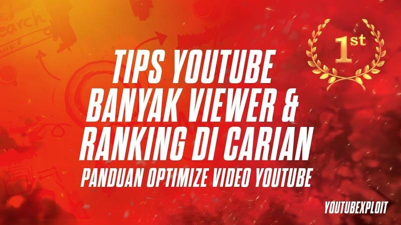 Tips agar youtube banyak viewer Ranking di carian - Faktor ranking