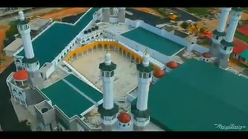 Masjid Razaleigh ilham dari Masjidil Haran Gua Musang Kelantan