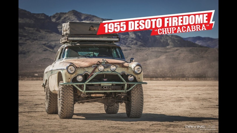 Ride of the Week 1955 DeSoto Firedome 4x4 Overland Edition