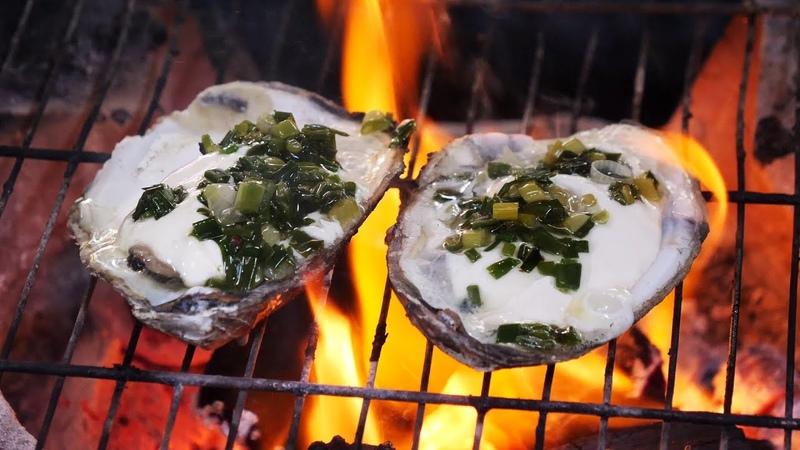 베트남 재래시장 해산물 석화구이 조개 고동 베트남 추천 길거리 음식 vietnamese street seafood
