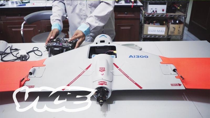 Drone Asli Buatan Indonesia Terbang Melintasi Gunung Api AeroTerrascan