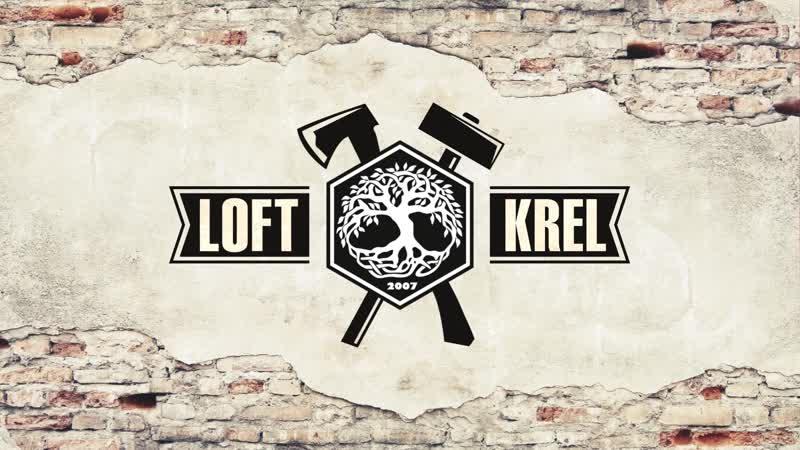 Loft Krel logo opener