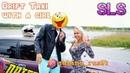 Дрифт такси с девушкой/Drift taxi with a girl/drift/sabina_rus54/SLS