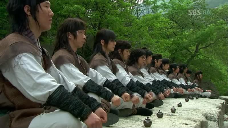Эпизод из дорамы Воин Пэк Тон Су 5 серия Тяжело в учении легко в бою