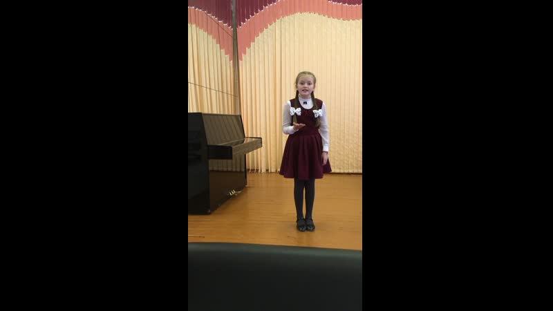 Щедричева Маша, 9 лет, п. Луковецкий