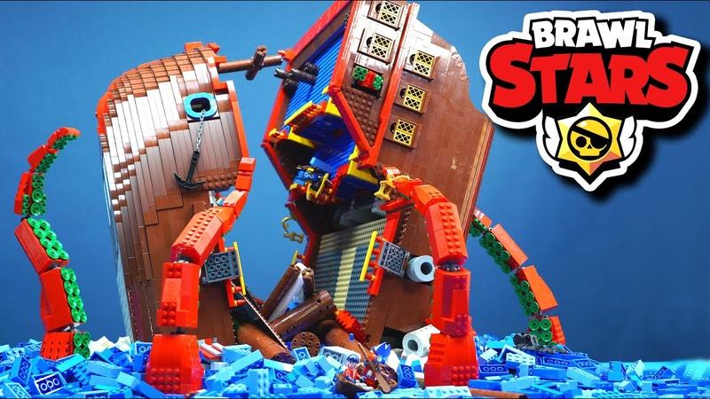레고천재들이 만든 브롤스타즈 스톱모션 해적편 Lego Brawl Stars 'Pirates ship' stop motion animation