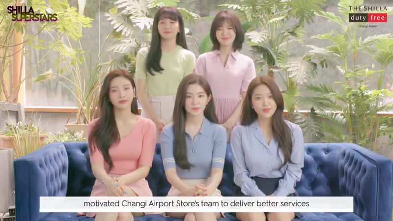 OFFICIAL 191002 RedVelvet 레드벨벳 for The Shilla Duty Free