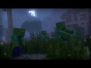 Зомби-Апокалипсис ВСЕ ЧАСТИ! Minecraft Анимация