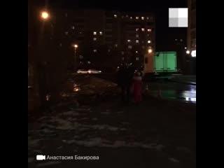 Академ затопило из-за коммунальной аварии