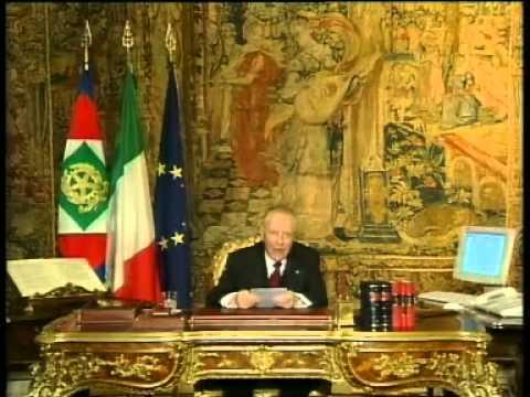 Messaggio di Fine Anno del Presidente della Repubblica 2003 Carlo Azeglio Ciampi 31 12 2003