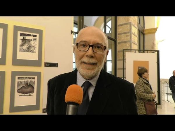 """Grafica bielorussa Il Dialogo delle Civiltà"""" c o Liceo Artistico Foiso Fois Inaugurazione 5 12 19"""