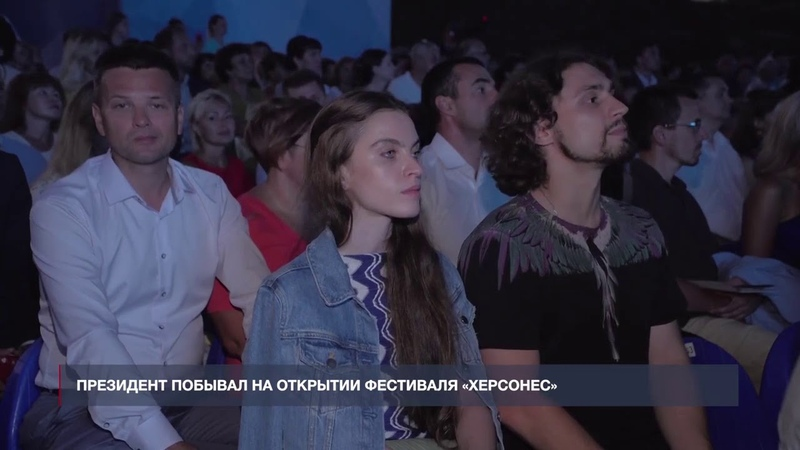 НТС: Путин встретился с юными балеринами на открытии фестиваля «Херсонес»