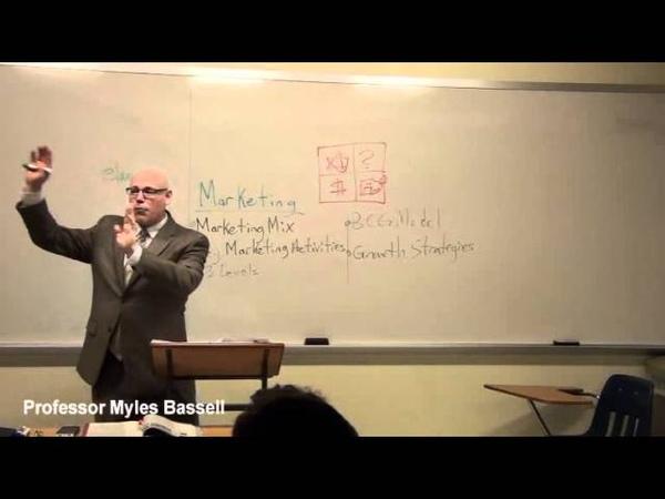 1 of 20 Marketing Basics Myles Bassell