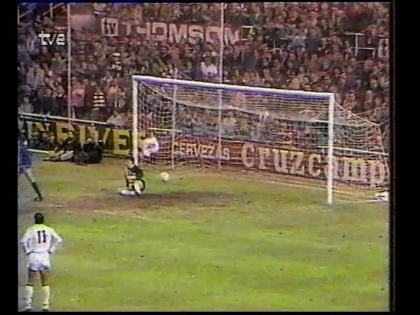 Rinat Dasayev debut 1988 30.11 Sevilla Spain Real Madrid Spain 1 1 Spain Championship